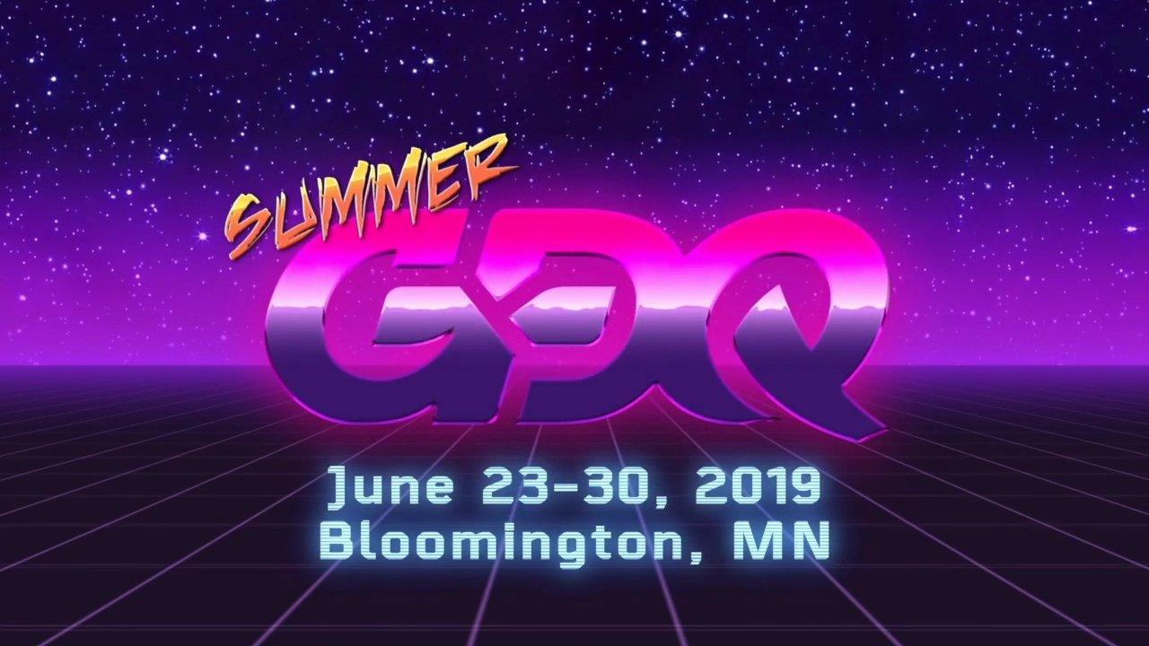 SGDQ 2019 Date