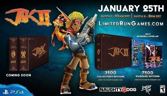 limited run games jak ii