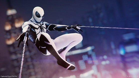 marvel's spider-man fantastic four suits