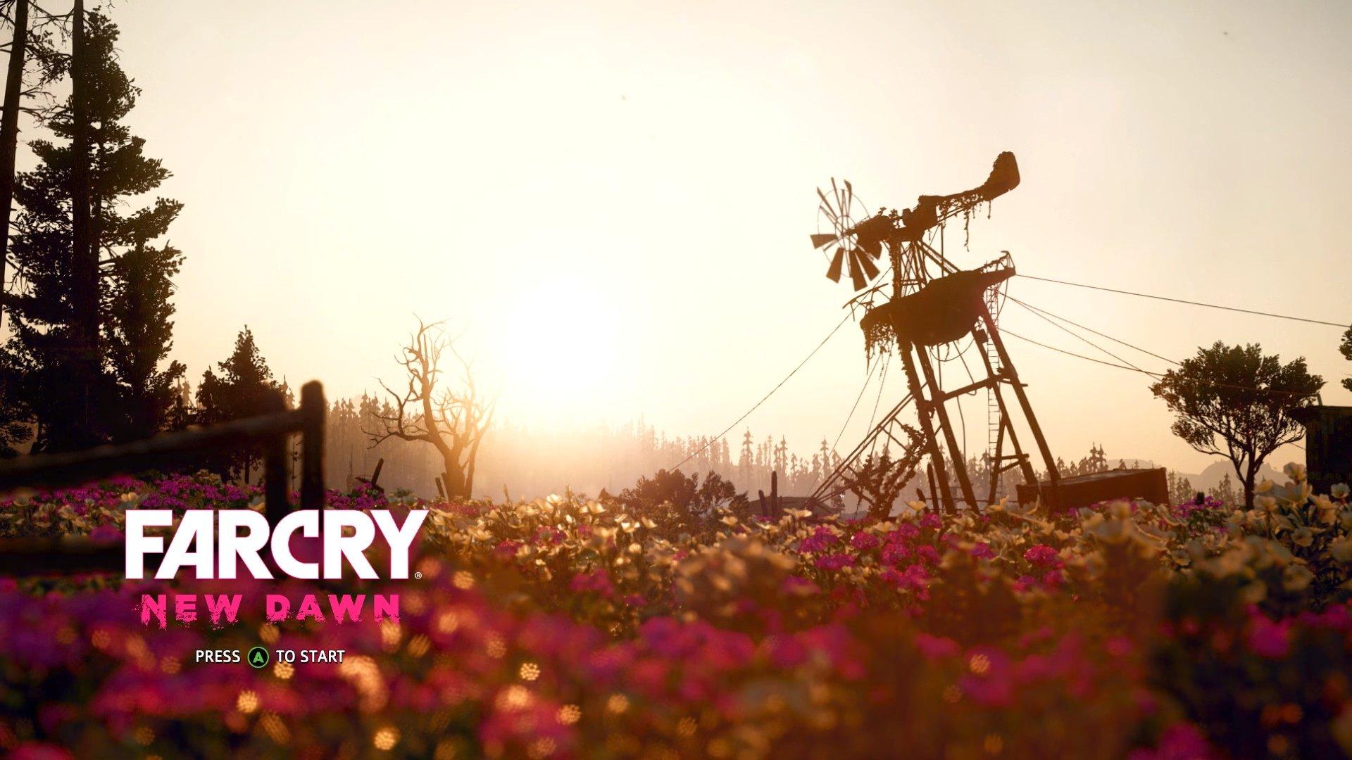 Far Cry New Dawn Title