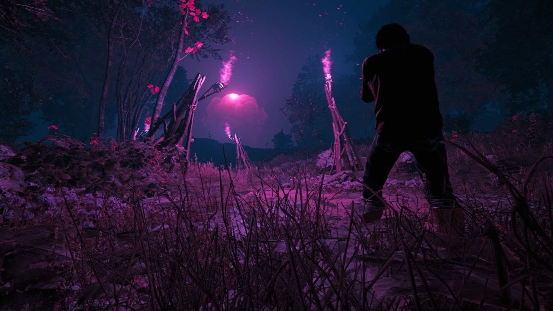 Far Cry New Dawn Pink Mushroom Cloud