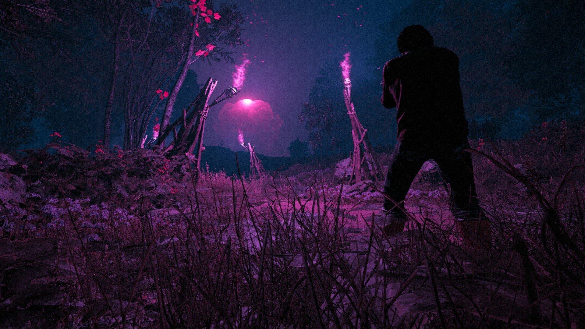 Far Cry New Dawn Pink Mushroom Cloud