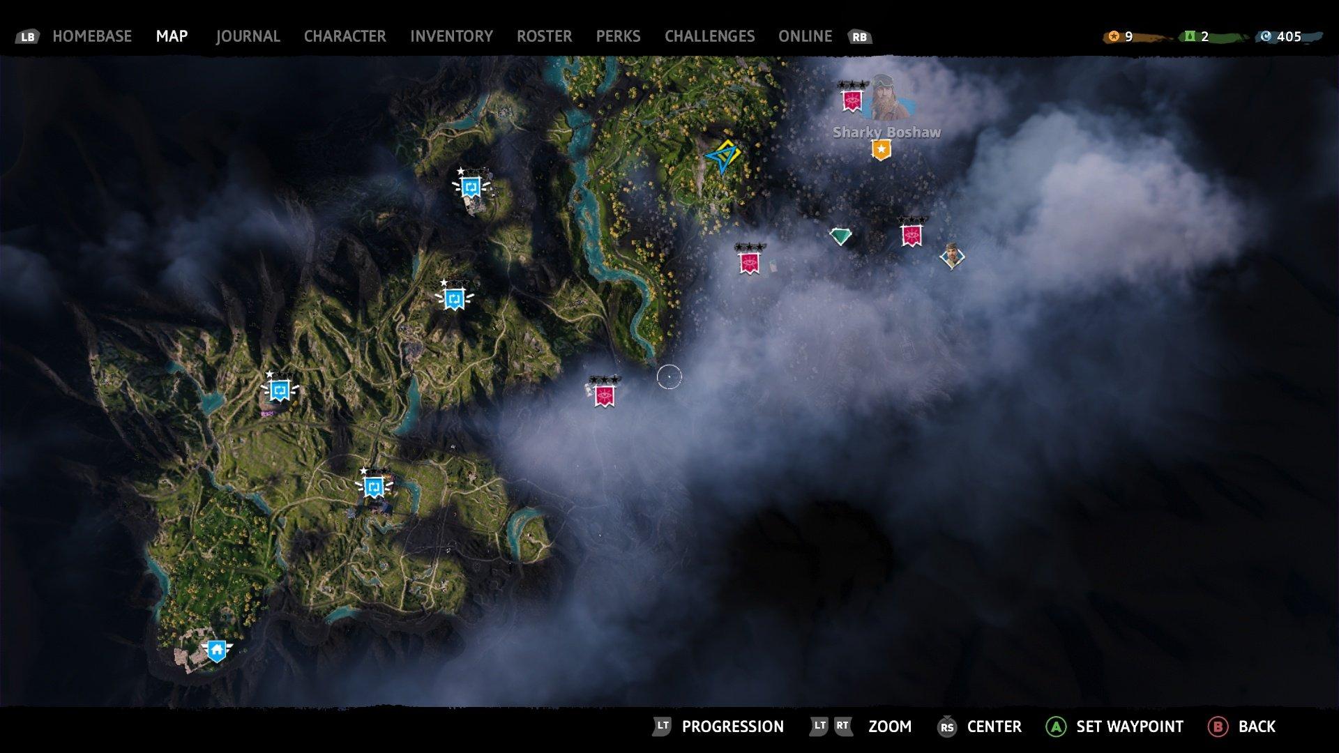 Far Cry New Dawn Map
