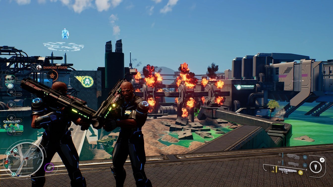 Crackdown 3 Explosions