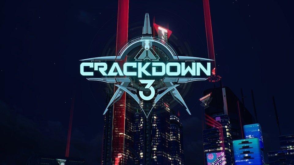 Crackdown 3 Title Screen