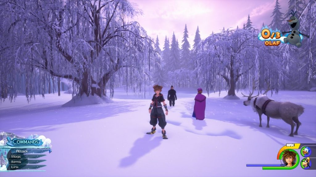 Kingdom Hearts 3 Frozen Level