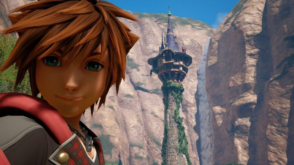 Kingdom Hearts 3 Sora Selfie