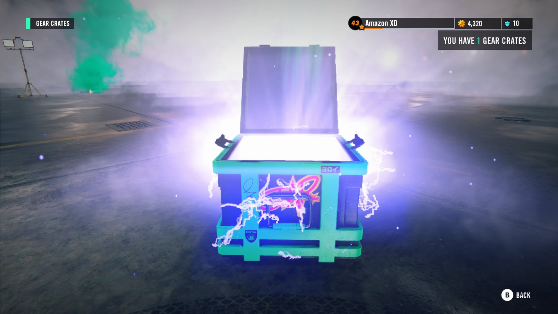 Trials Rising Loot Crate Open
