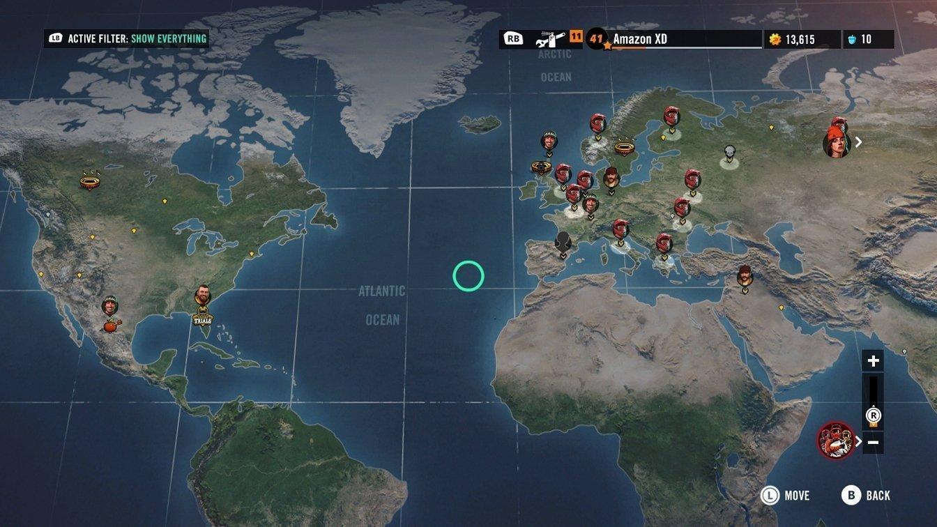Trials Rising Map