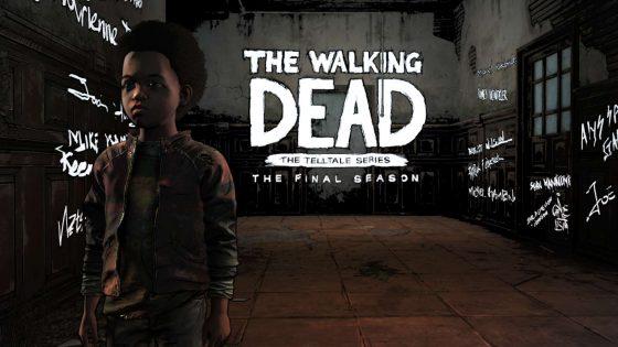 The Walking Dead FInal Season AJ Standing in Hallway