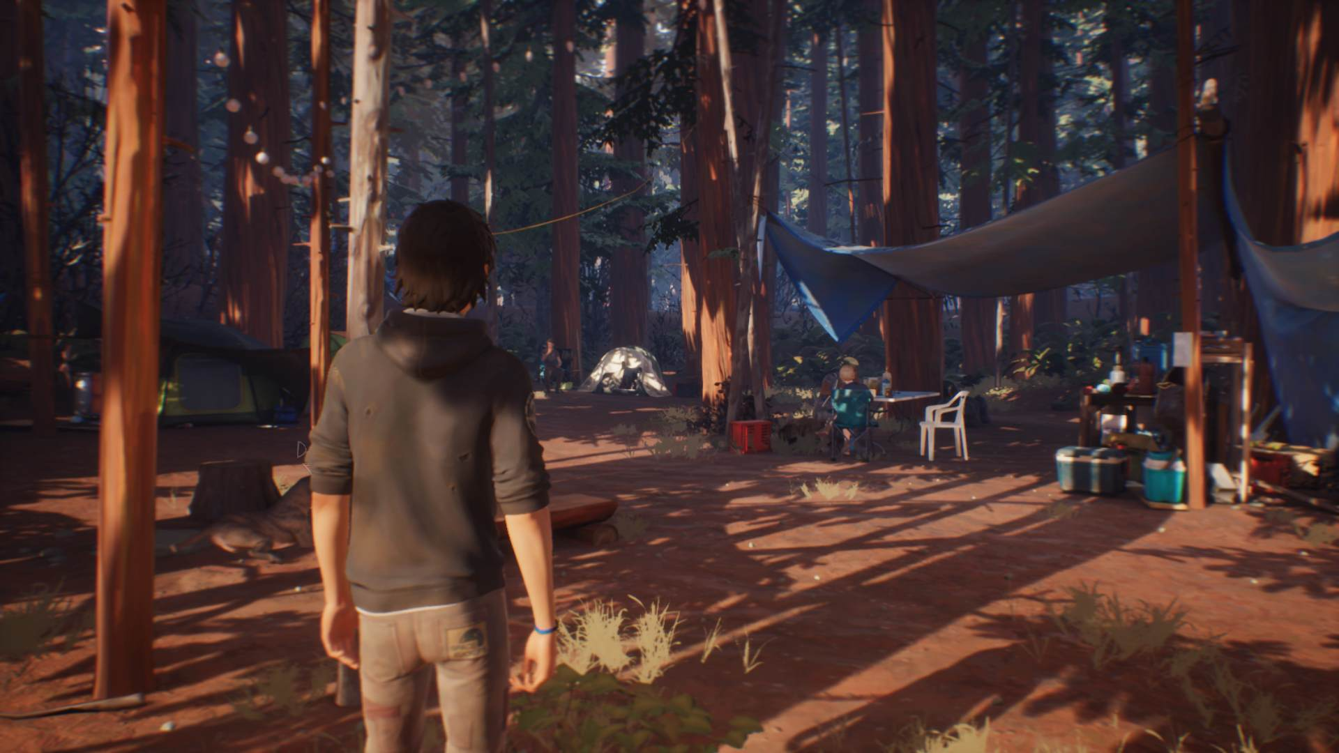 Life is Strange 2 Episode 3 Exploring Camp