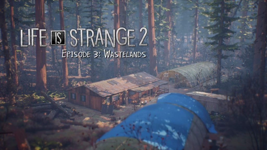 Life is Strange 2 Episode 3 Title Screen