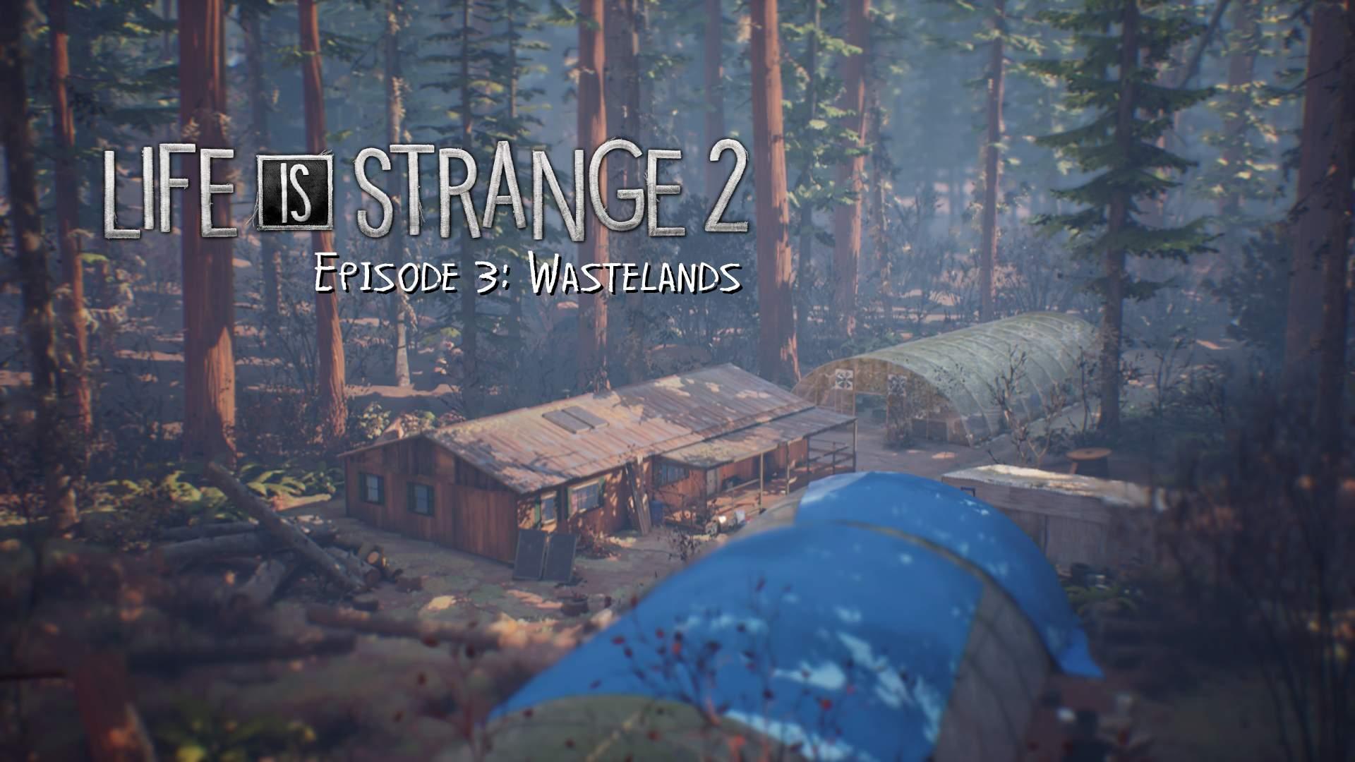 Life is Strange 2 Episode 3 Title Screen