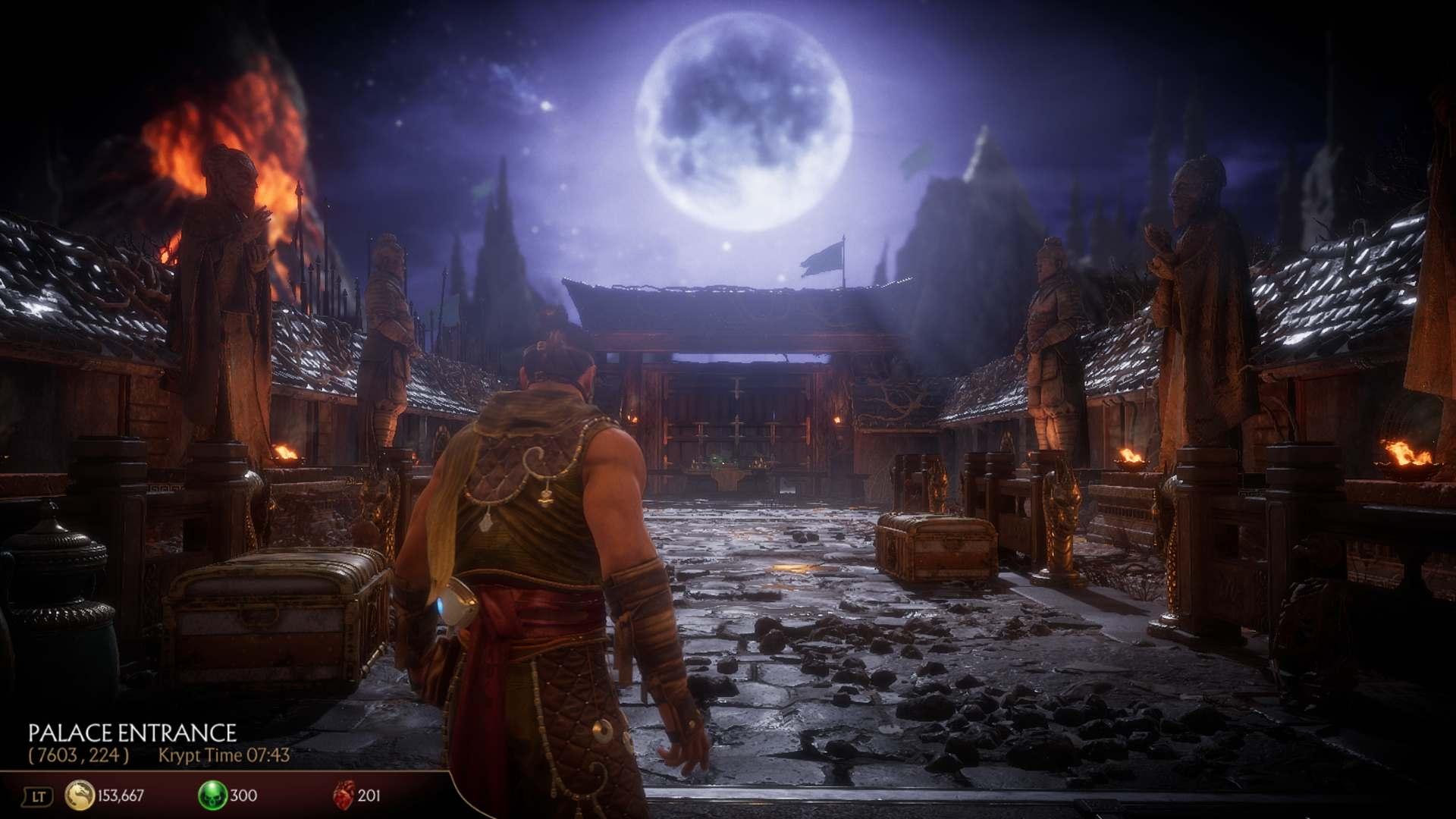 Mortal Kombat 11 Krypt Palace Entrance