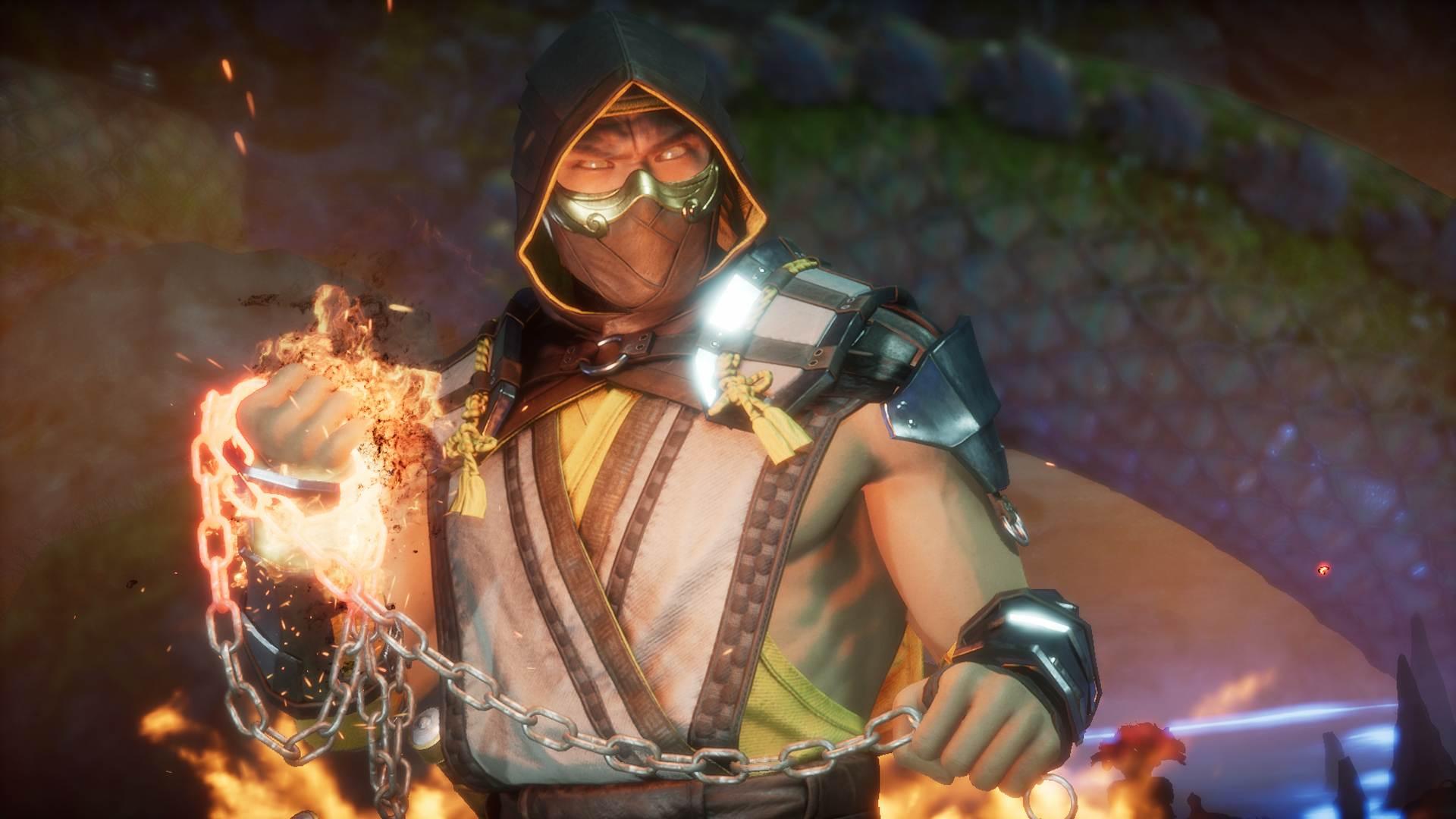 Mortal Kombat 11 Scorpion Character