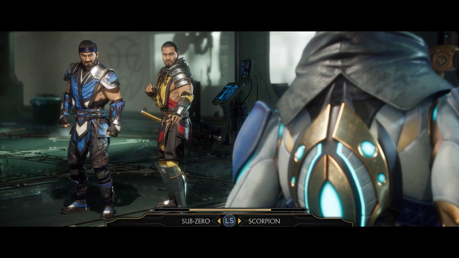 Mortal Kombat 11 Sub-Zero and Scorpion Story Choice