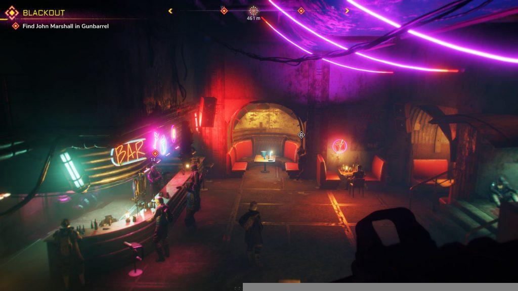 Rage 2 Gunbarrel Neon Bar