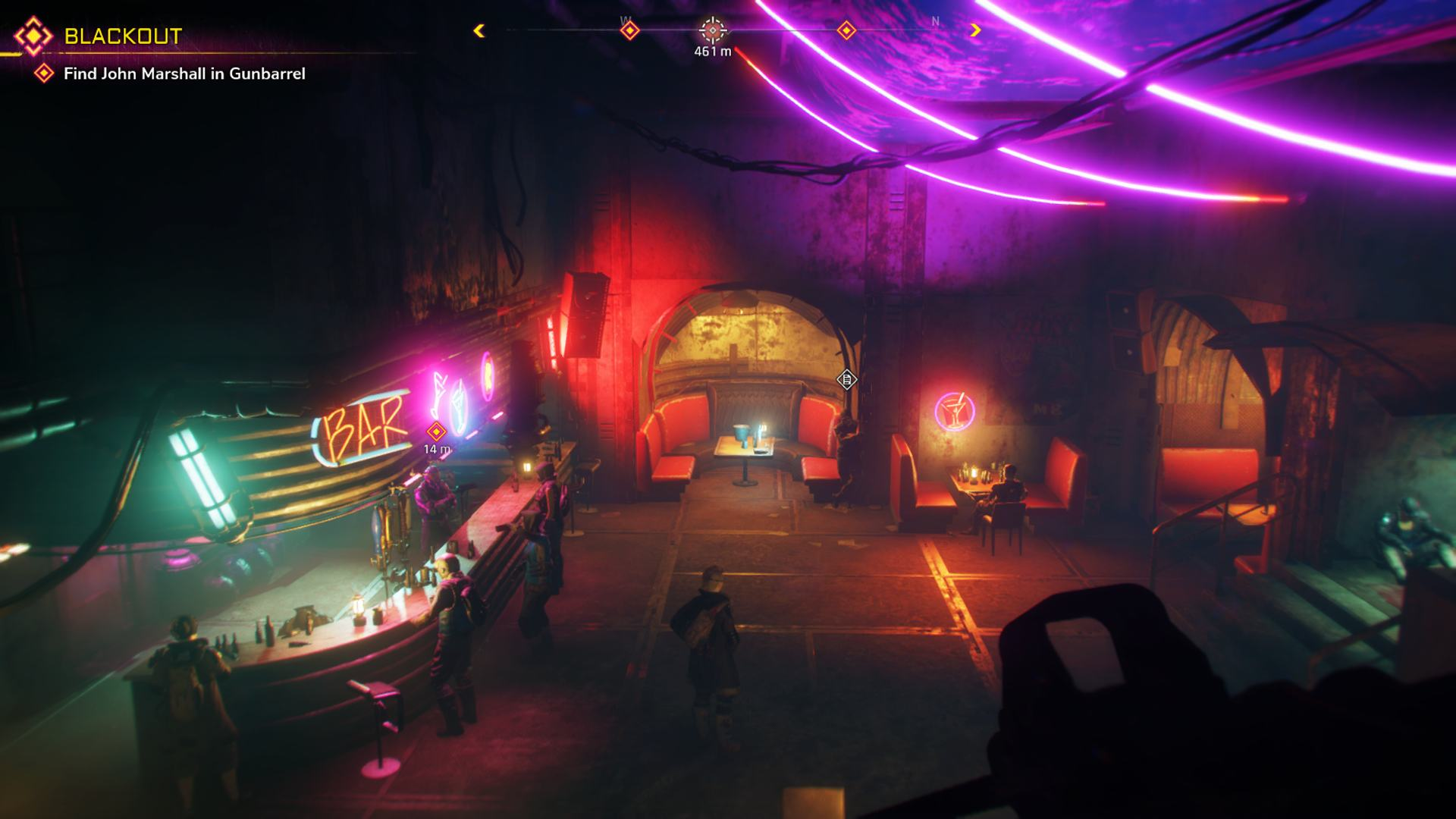 Rage 2 Gunbarrel Neon Bar