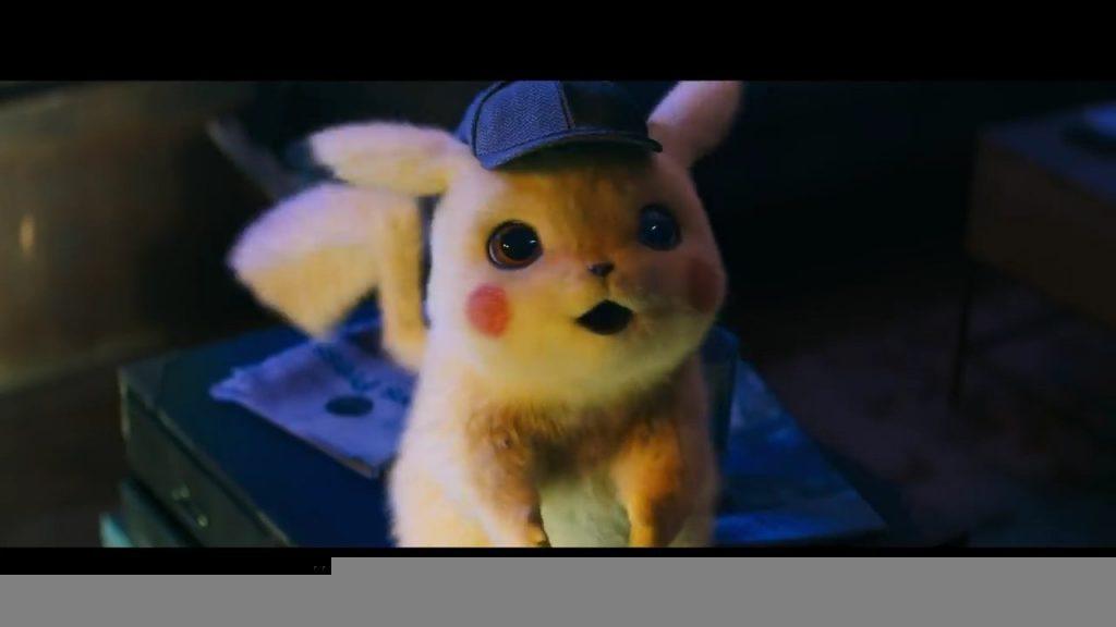 Pikachu Looks Surprised in Pokemon Detective Pikachu