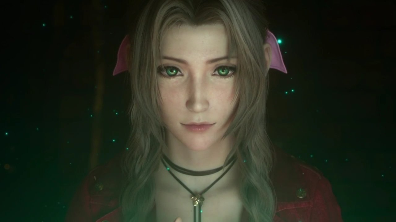 Aerith in Final Fantasy VII Remake