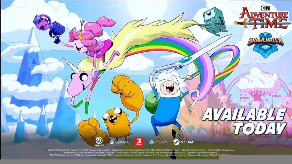 Brawlhalla: Adventure Time E3 Ubisoft 2019