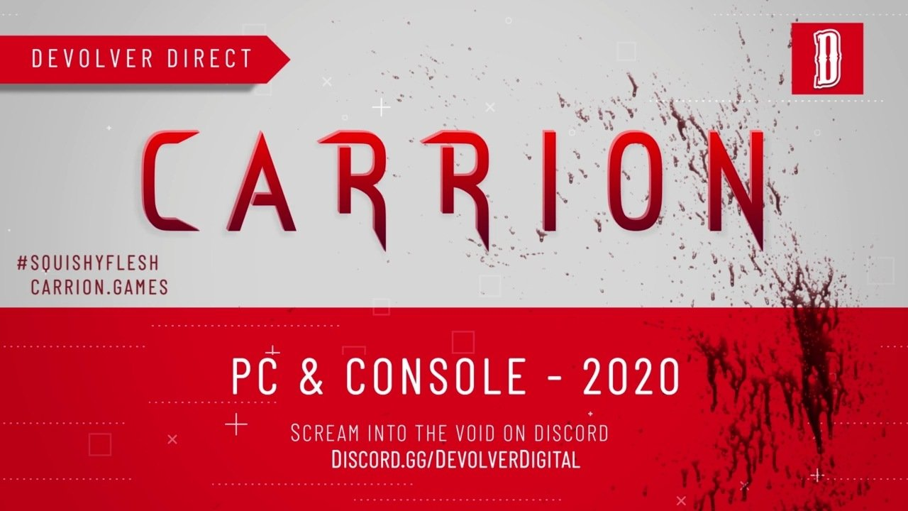 Carrion Release Date E3 2019