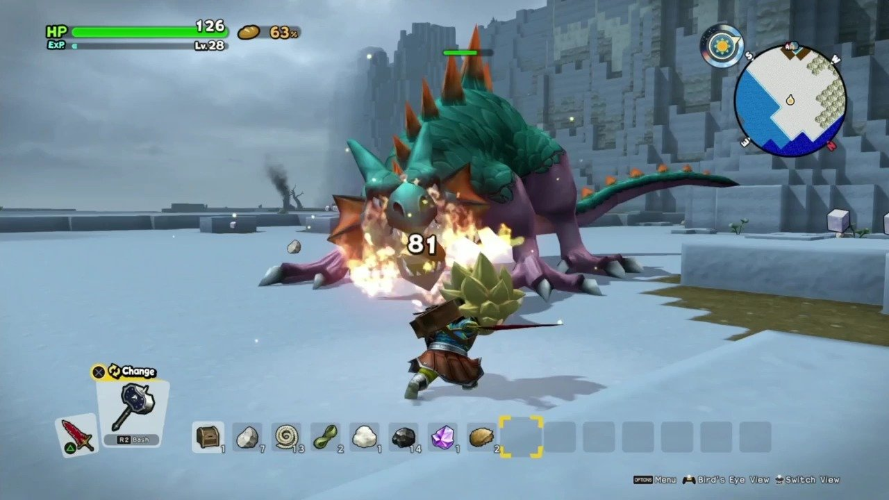 Dragon Quest Builders 2 Gameplay