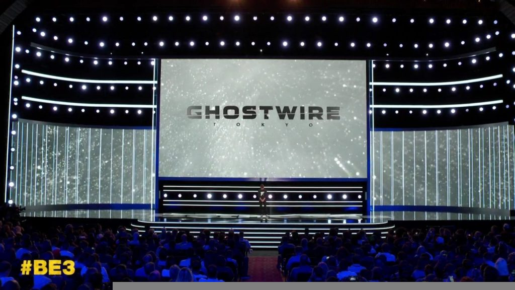 Ghostwire Tokyo at Bethesda E3 2019