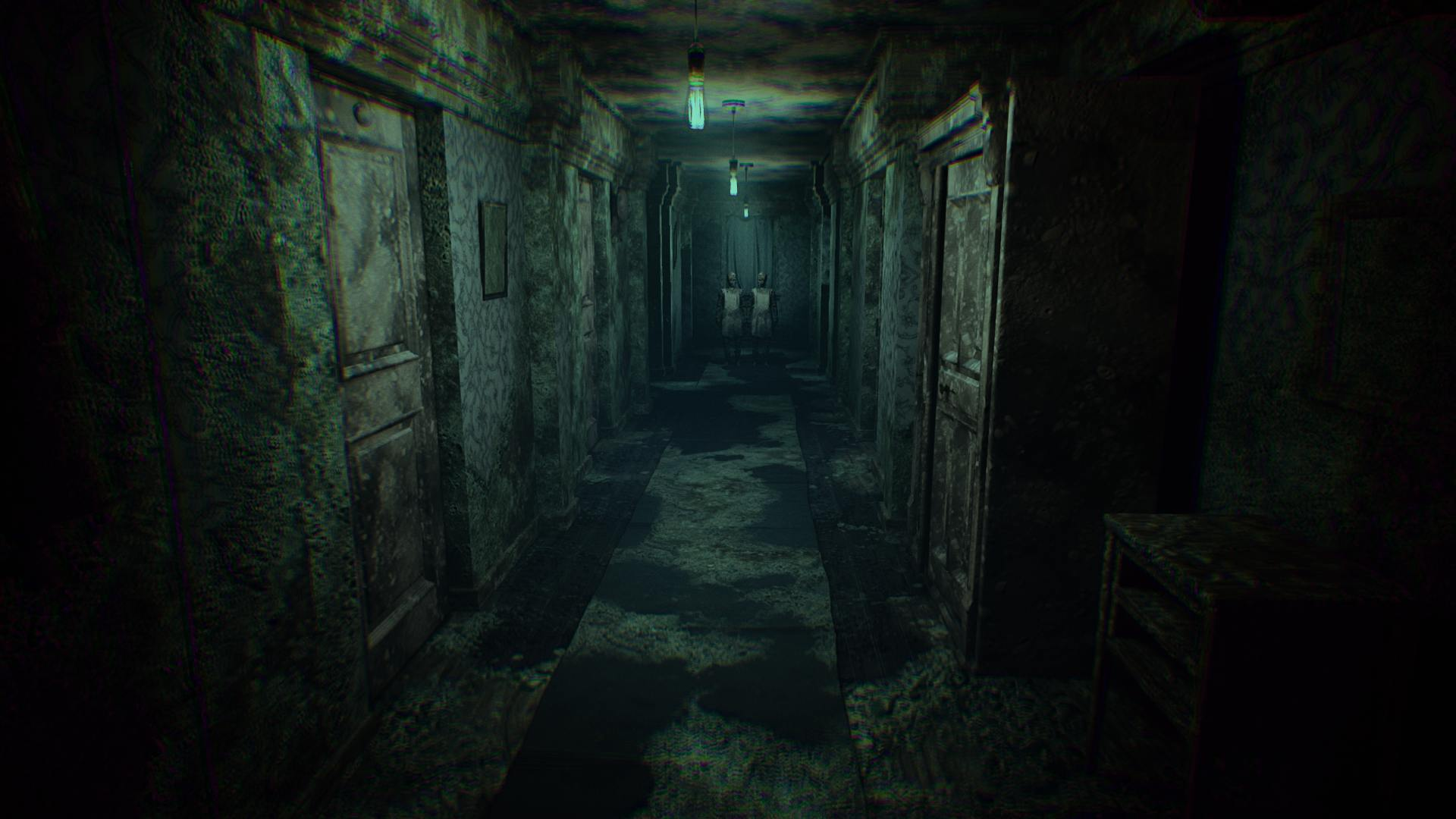 Layers of Fear 2 Hallway