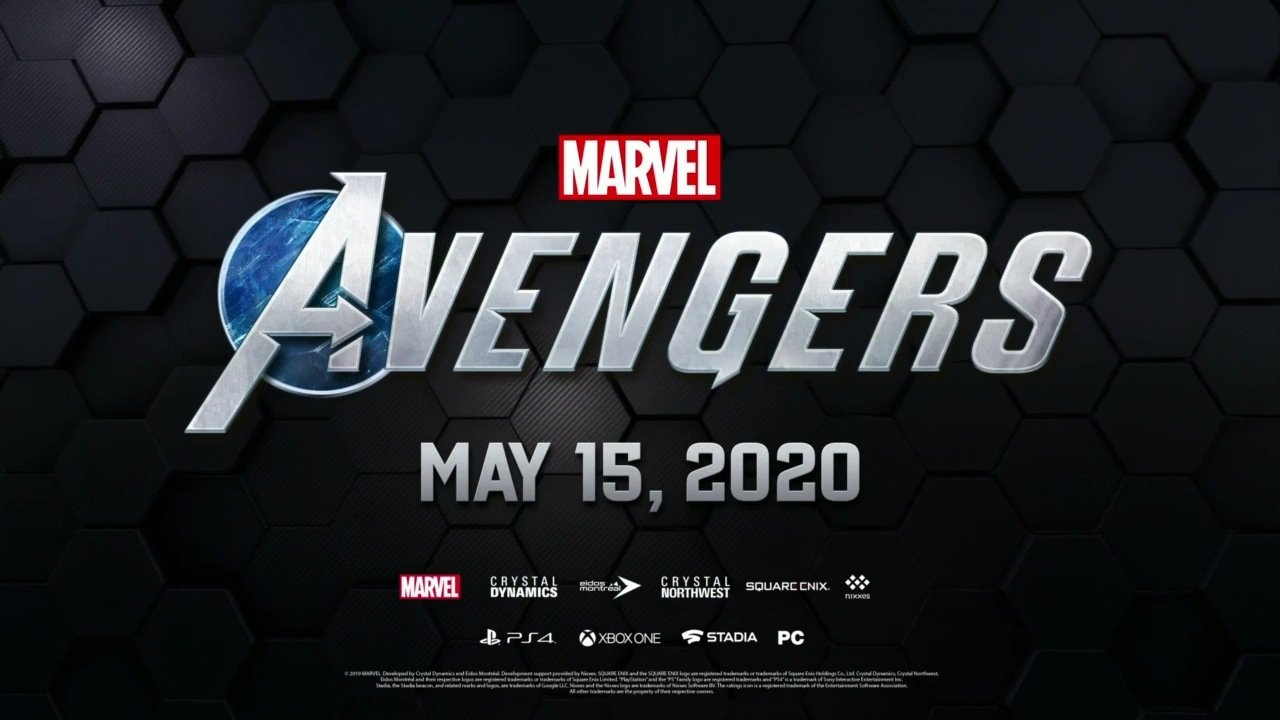 Marvel's Avengers E3 2019 Release Date