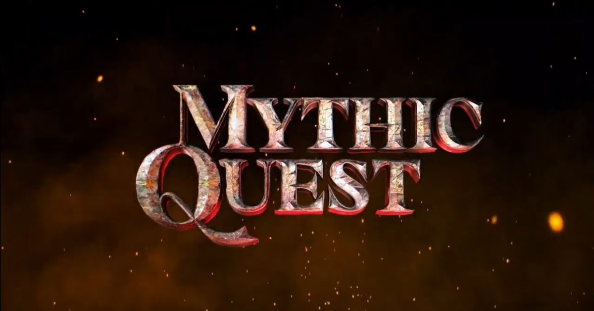 Mythic Quest logo E3 Ubisoft 2019