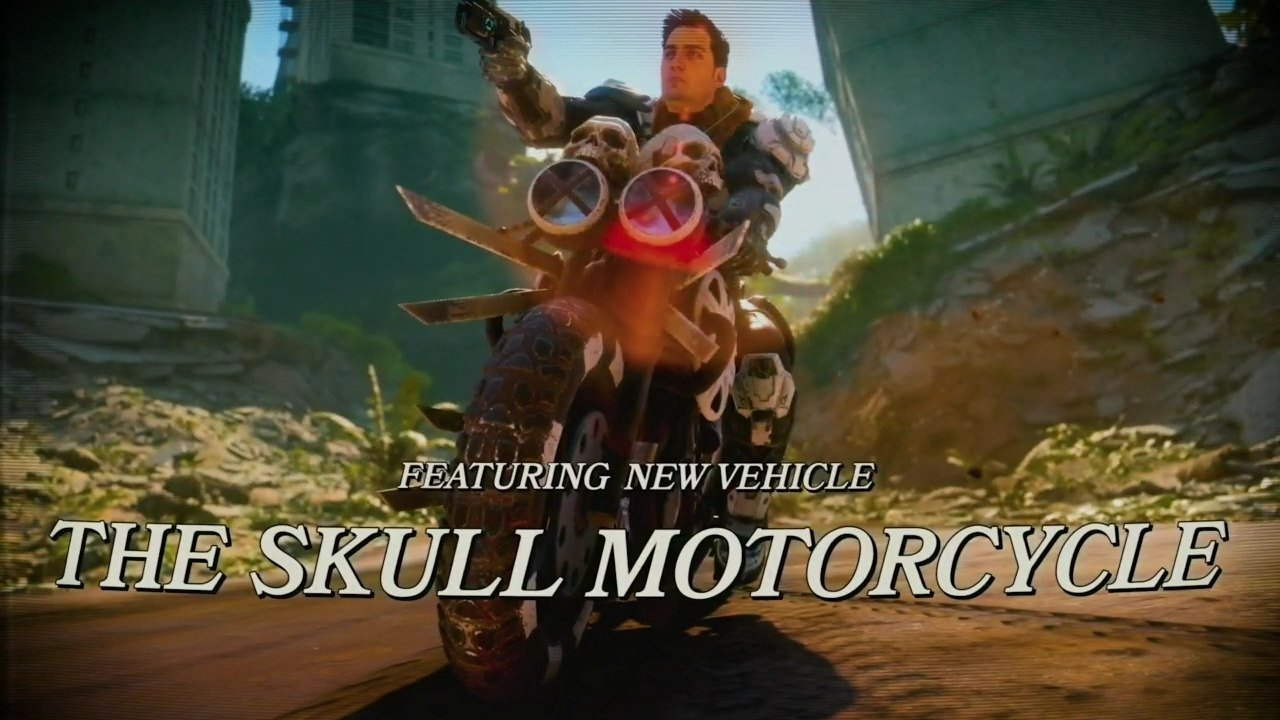 Rage 2 Rise of Ghosts Skull Motorcycle