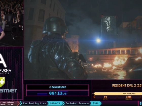 SGDQ 2019 Resident Evil 2 4th Survivor