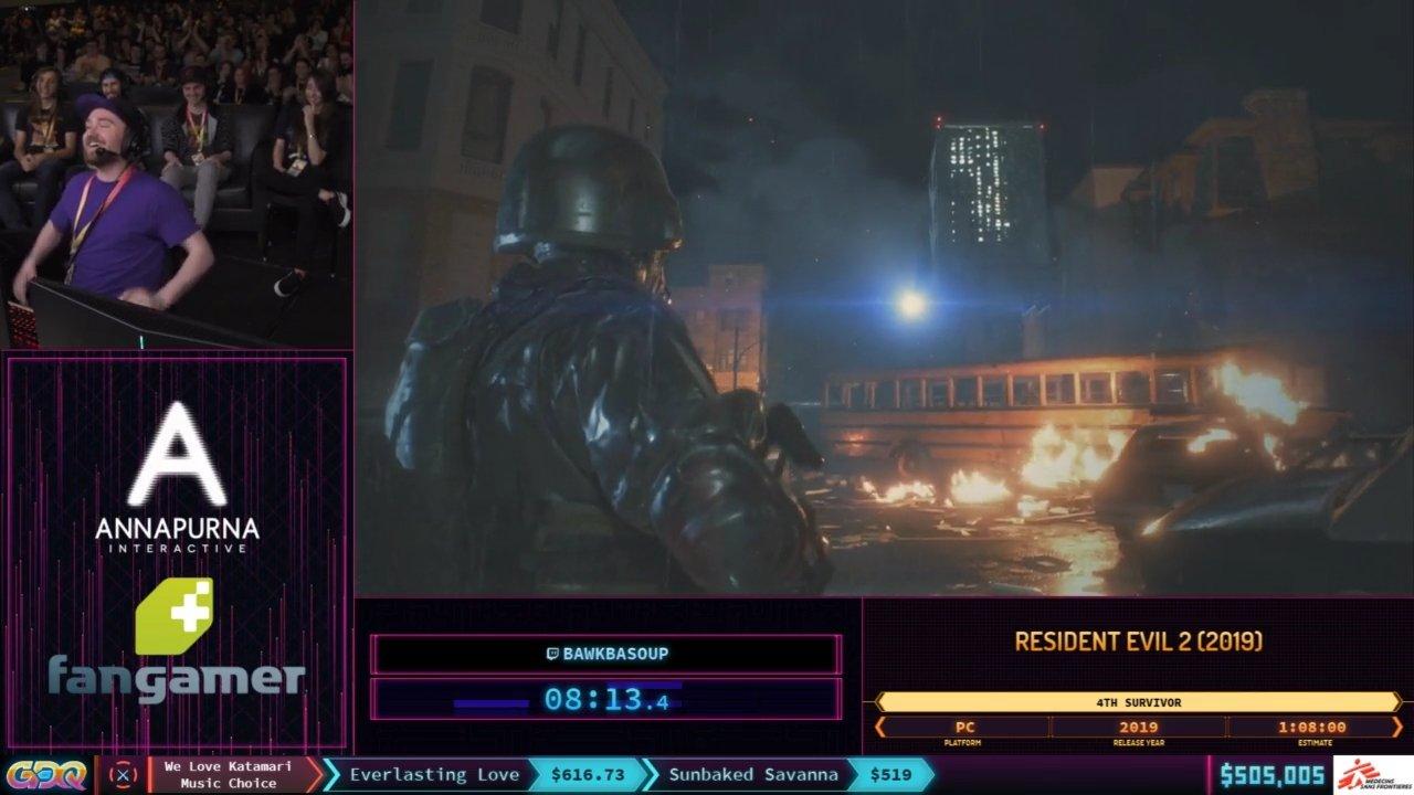 SGDQ 2019 Resident Evil 2 4th Survivor