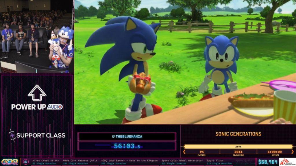 Sonic Generations SGDQ 2019