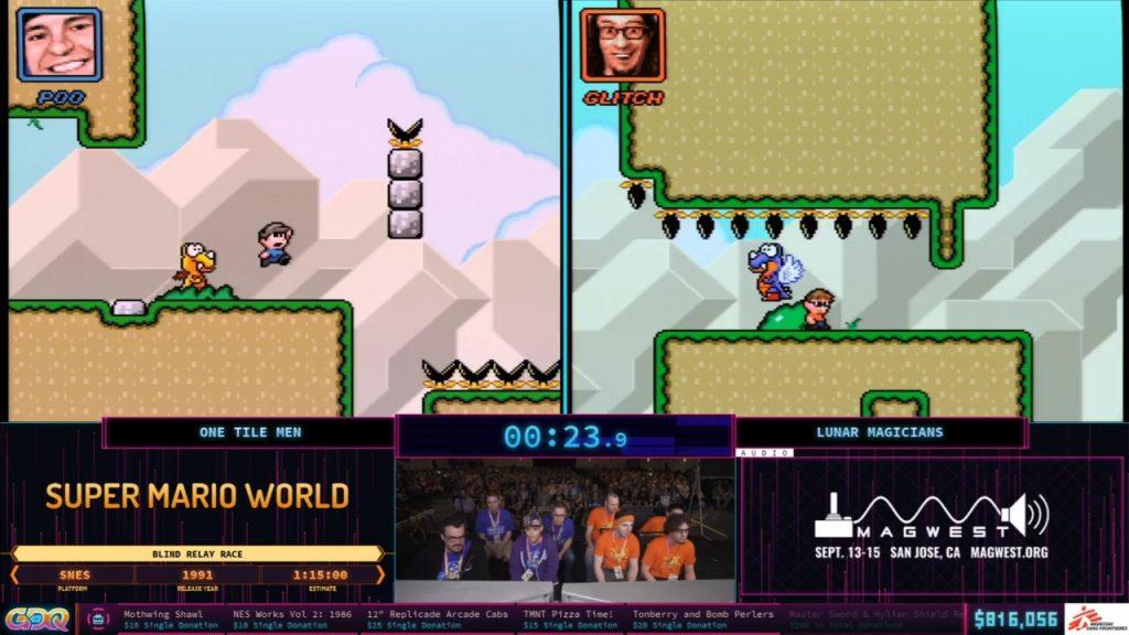 Super Mario World Rom Hack SGDQ