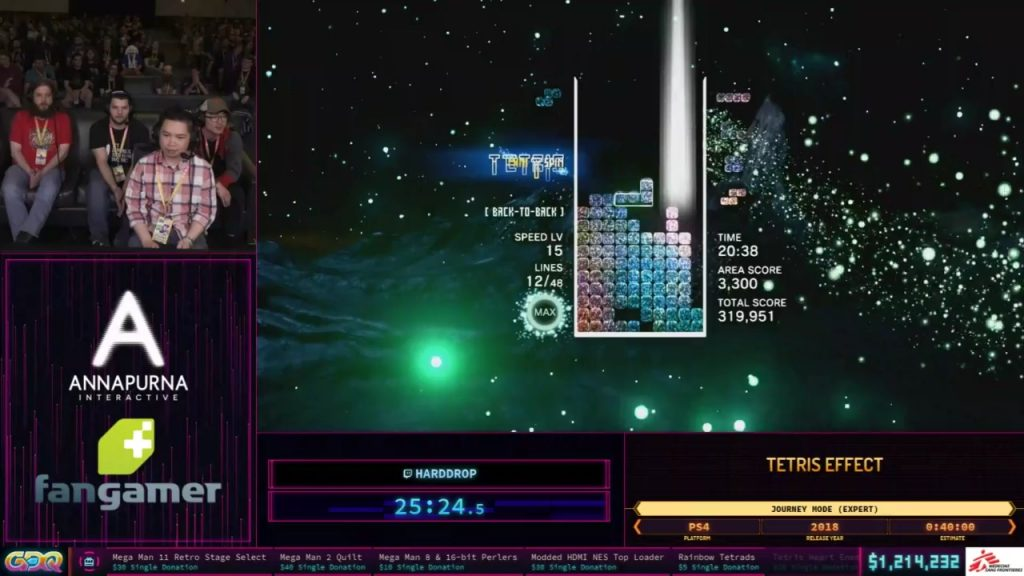 Tetris Effect Speedrun