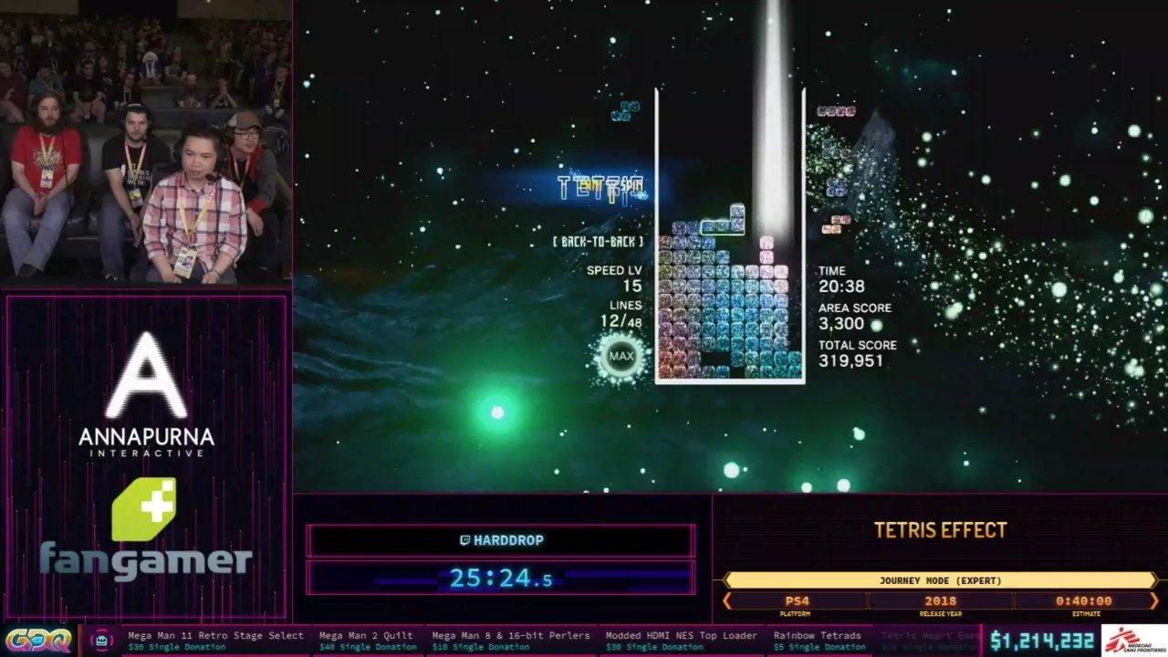 Tetris Effect Speedrun