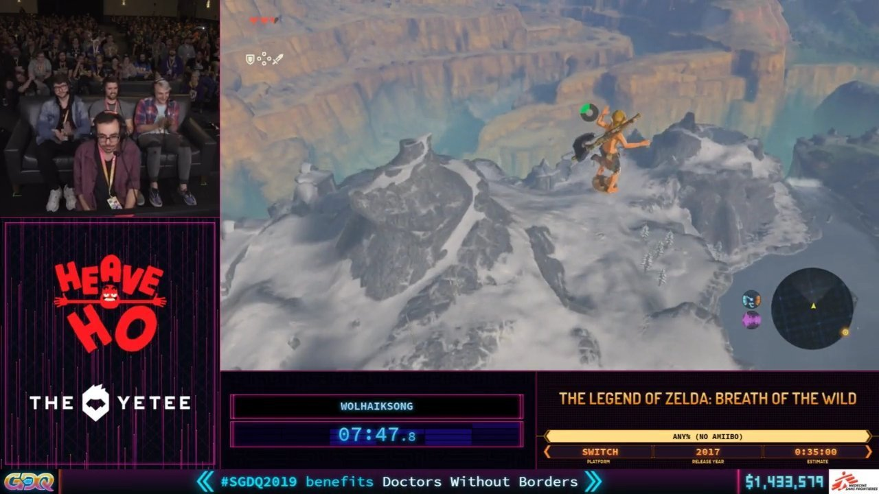 SGDQ 2019 BReath of the Wild