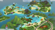 The Sims 4: Island Living town view