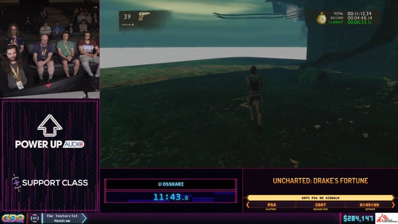 Uncharted 1 SGDQ 2019