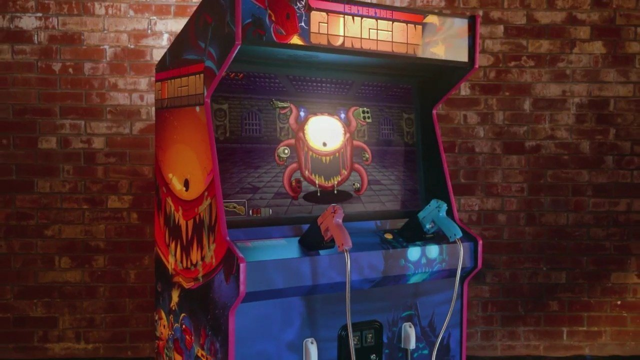 Enter the Gungeon Arcade Game