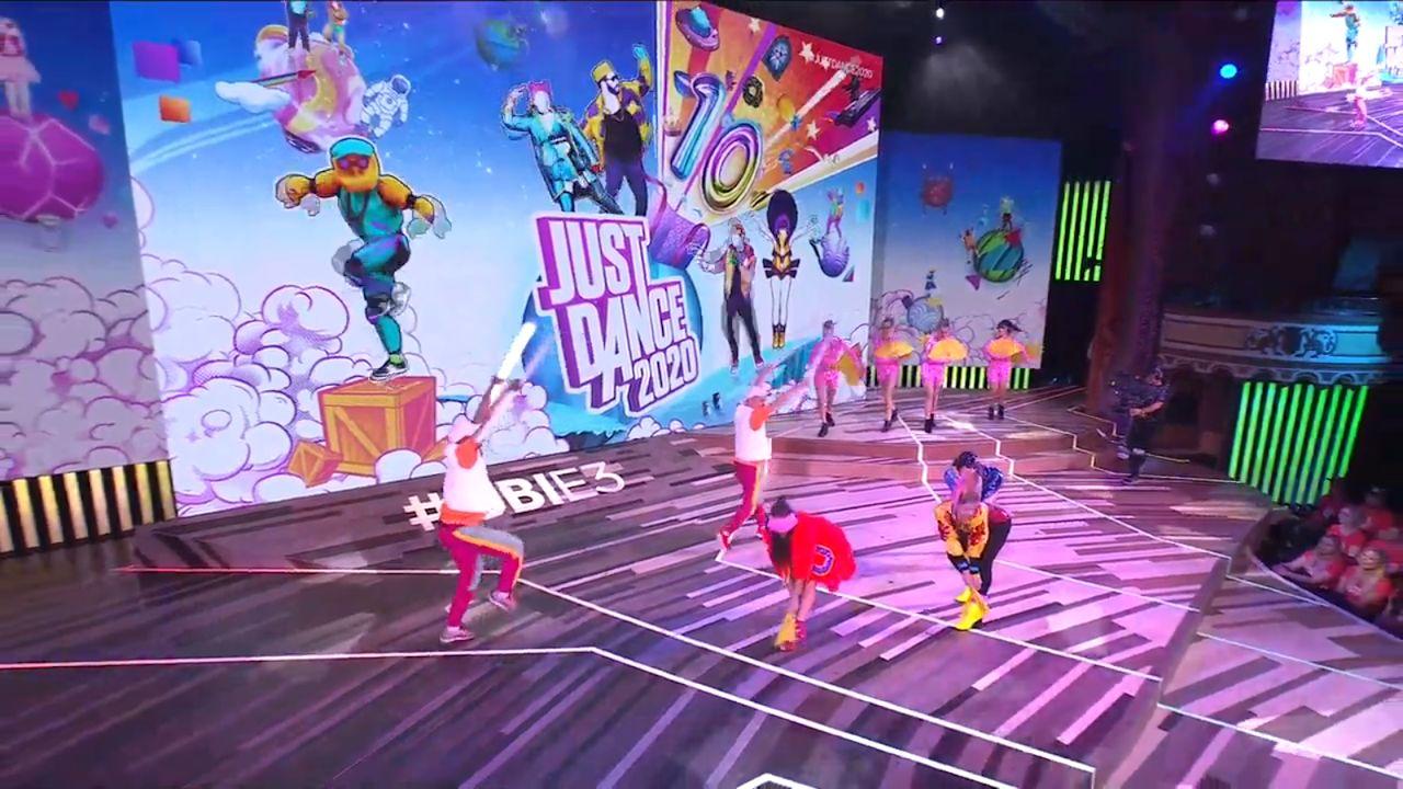Just Dance 2020 Ubisoft E3 dancers 2019