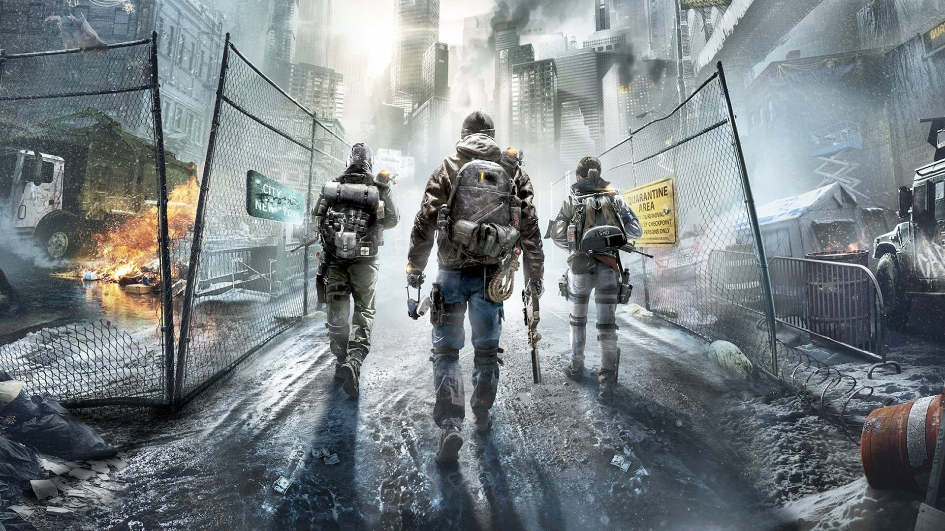 Tom Clancy's The Division Movie artwork