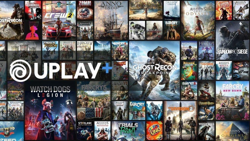 Uplay+ streaming games