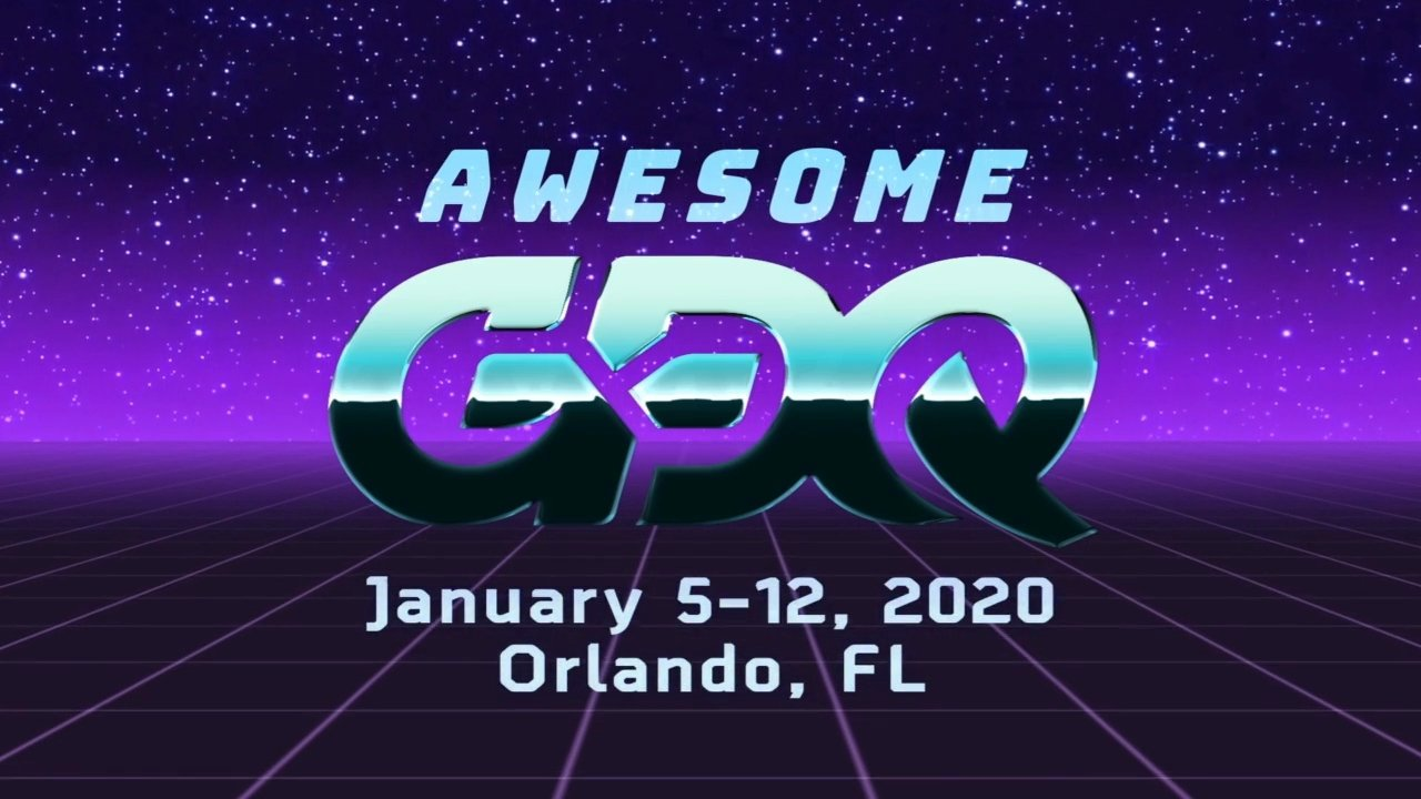 AGDQ 2020 Dates