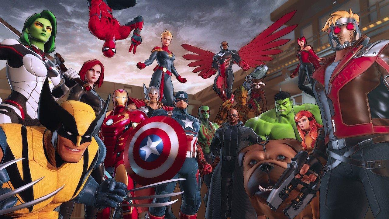 Marvel ultimate alliance 3 cast