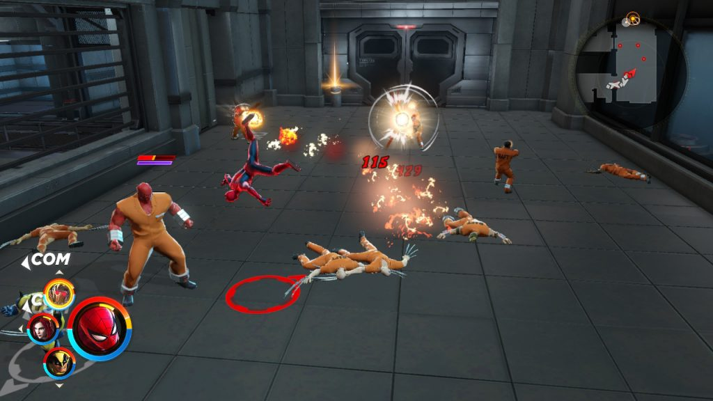 Marvel ultimate alliance 3 combat