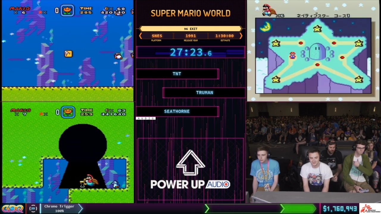 Super Mario World 96 exit sgdq 2019