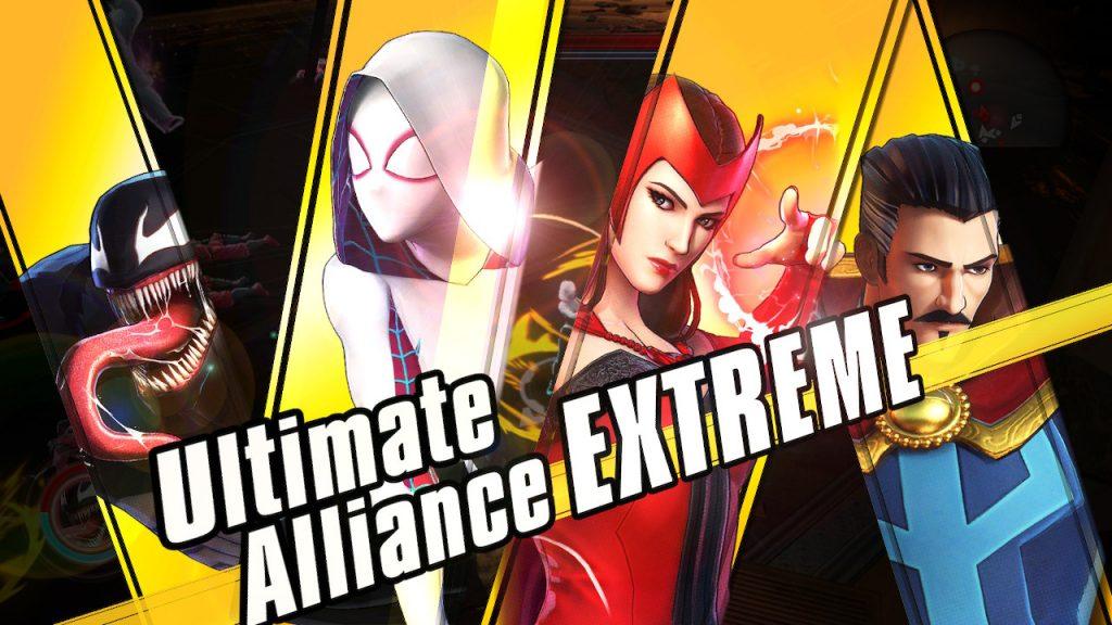 Venom Spider-Gwen Scarlett Witch Doctor Strange